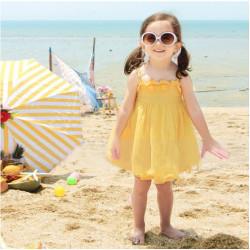 Baby Kleid Kind Prinzessin Kleid Schulter Bügel Kleid