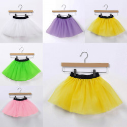 Baby Girls Elastic Cord Ballet Skirt Dance Princess Dress
