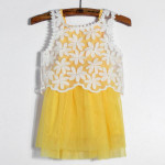 Baby Girls Hollow Out Sundress Kids Summer One-piece Dresses Baby & Mother Care