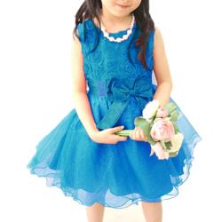 Baby Girls Princess Flower Party Wedding Bridesmaid Dress