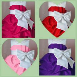 Baby Girls Summer Bowknot Sleeveless Princess Dresses