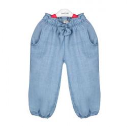 Barn Hampfibrer Blend Byxor Short Ventilera Sommar Cool Bottom