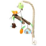 Barn Infant Crib Säng Bjällra Musikal Bird Djur Hängande Rotera Rattle Barnprodukter