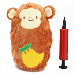 Baby Kid Inflatable Monkey Roly-Poly Children Tumbler Plush Doll