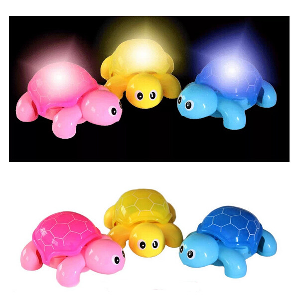 Baby Kid Lovely Crawl LED Child Animal Tortoise Music Llight Toy Baby & Mother Care