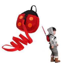Baby Kind Sicherheitsgurt Bügel Marienkäfer Tasche Anti verloren gehende Flügel
