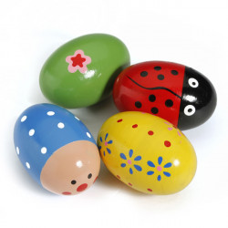 Baby Kind Spielzeug Egg Maracas Musik Shaker Rattle Percussion