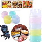 Baby Kids 4 Layers Milk Powder Case Bottle Dispenser Travel Feeding Container Baby & Mother Care
