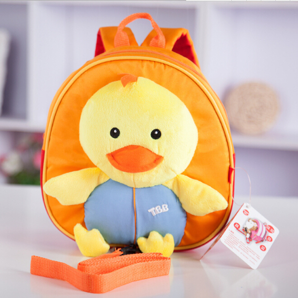 Baby Kids Cartoon Doll Chick Anti-lost Schoolbag Shoulder Bag Baby & Mother Care