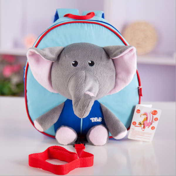 Baby Kids Cartoon Doll Elephant Anti-lost Schoolbag Shoulder Bag Baby & Mother Care