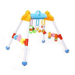 Baby Kind Fitness Rahmen Baby Fitness Rasseln Musik Gym pädagogisches Spielzeug