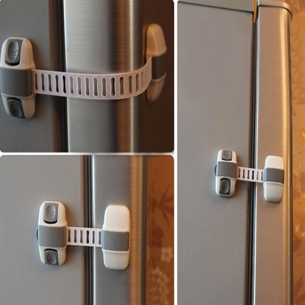 Baby Børn Multi-funktion Skab Køleskab Lock Baby Sikkerhed Products Børn  & Babyudstyr