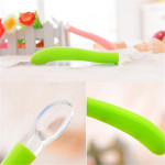 Baby Kids Soft Silicone Feeding Spoon Children Flatware Supplies Baby & Mother Care