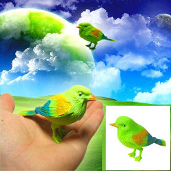 Baby Kids Sound Control Activate Chirping Singing Bird Toy Gift