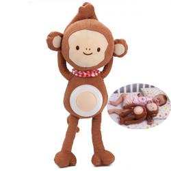 Baby Musical Affe Schlafnachtlicht Lampen Plüsch Spielzeug Puppe