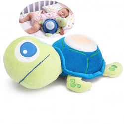 Baby Musical Plush Doll Tortoise Kid Sleeping Night Light Lamp Toy