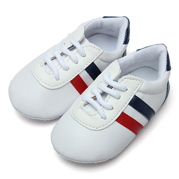 Baby Non-Slip Sole Sports Shoes Unisex Toddler Shoelace Slipper Baby & Mother Care