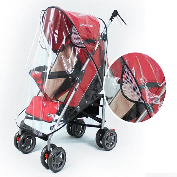 Barn Regn Blåst Snö Regn Skal till Single Jogger Barnvagn Barnprodukter