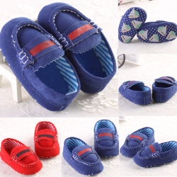 Baby Toddler Loafers Soft Sole Antiskid Crib Shoes