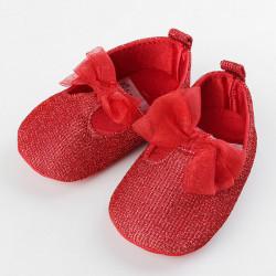 Baby Kleinkind Prinzessin Shoes Bandbowknot weiche Sohle Prewalker