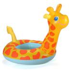 Tecknad Giraff Barn Simring Uppblåsbar Boat Simning Leksak Barnprodukter