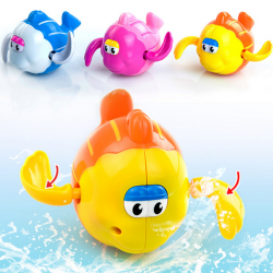 Cartoon Swimming Chain Turtle Baby Children Bath Clockwork Toys