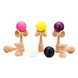 Barn Trä Kendama Boll PU Paint Traditionell Spel Skicklighet Leksaker