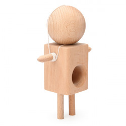 Child Kids Doll Kendama Ball wooden toy Traditional Technical Toys