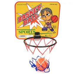 Barn Backboard Beslag Netto Set Novelty Sporter Basket Leksak