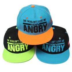 Children Baseball Cap Hip Hop Adjustable Embroidered Hat