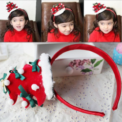 Children Dot Christmas Tree Hairband Hair Accessories