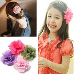 Kinder Mädchen Blumen Kopfschmuck Hochzeit Clip Haarschmuck
