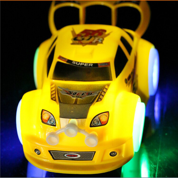 Children Light Emitting Musical Racing Car Electric Universal Toy Baby & Mother Care