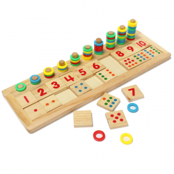Children Number Mathematic Teaching Wooden Developmental Toys