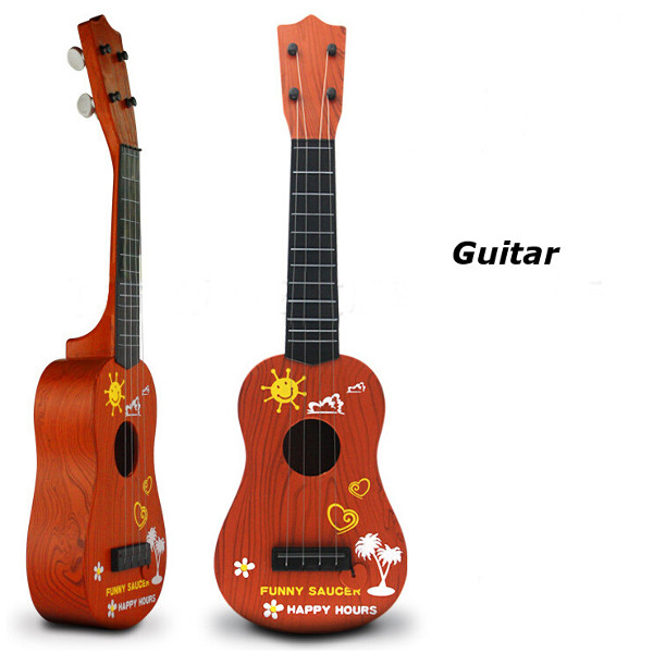 Children Wood Color Simulation Guitar Educational Musical Instruments Baby & Mother Care