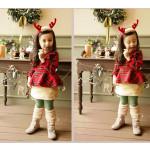 Julen Børn Rensdyrtak Santa Hårbånds Tilbehør Børn  & Babyudstyr