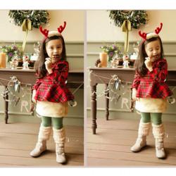 Julen Børn Rensdyrtak Santa Hårbånds Tilbehør