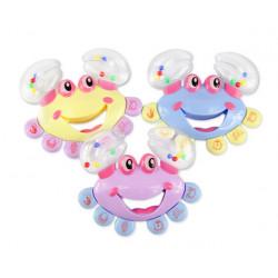 Crab Klingel Handbell Schütteln Musikinstrument Spielzeug für Baby