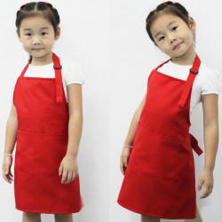 Cute Kids Barn Kök Målning Förkläden Justerbar Barn Förkläden