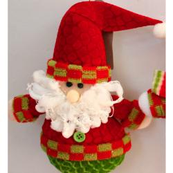 Stoff Weihnachtsgeschenke Weihnachtsmann Schneemann Elk
