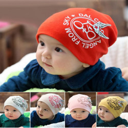 Mode Bike Angel Wings Baby Cotton Hat