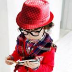 Flat Top Fedora Jungen Canvas Cap Kids Blues Jazz Tanz Hut Baby Kinder & Mutterpflege