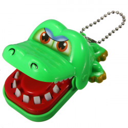 Funny Crocodile Mouth Dentist Bite Finger Toy  Child Adult Favor