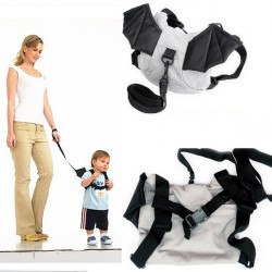 Kid Safety Harness Backstrap Bat Bag Anti-lost Walking Wings