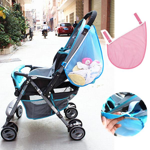 Barnvagnar Leksaker Blöja Net Mesh Förvaring Side Bag Barnprodukter