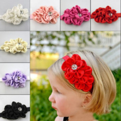 Kids Girl Baby Toddler Hair Headband Flower Bow Headwear Hat Hair Band