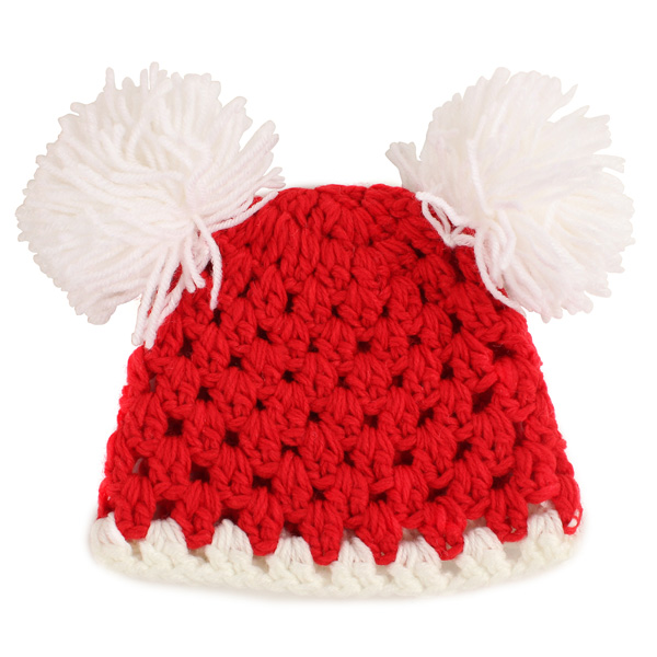 Lovely Pompon Design Nursling Babies Photography Props Hats Caps Baby & Mother Care