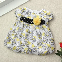 Lovely Toddler Infant Baby Girl Flower Outfit Set Infant Set