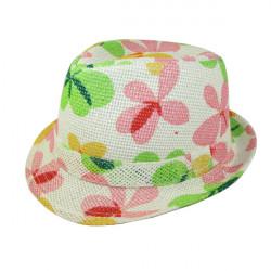 New Style Children Five Leaves Grass Hat Baby Jazz Cap