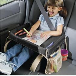 Bärbar Baby Kids Safety Bil Seat Barnvagn Fack Spela Resa Ritbordet